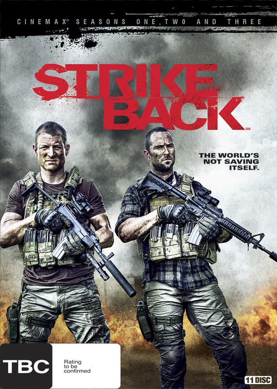 Strike Back Season 1 3 Dvd On Sale Now At Mighty Ape Nz