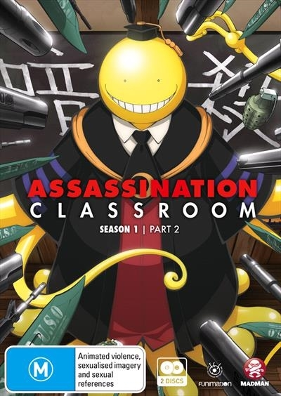 Assassination Classroom - Part 2 (Eps 12-22) on DVD
