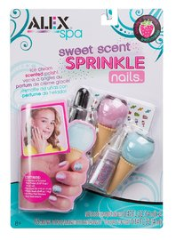 Alex: Sweet Scent - Sprinkle Nails Set