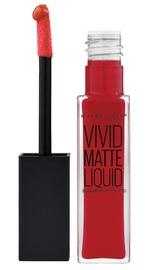 Maybelline Color Sensational Vivid Matte Liquid Lip Color - Rebel Red