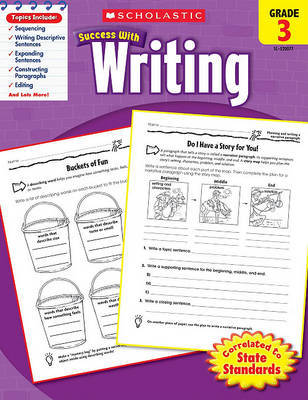 Scholastic Success with Writing, Grade 3 by Lisa Molengraft image