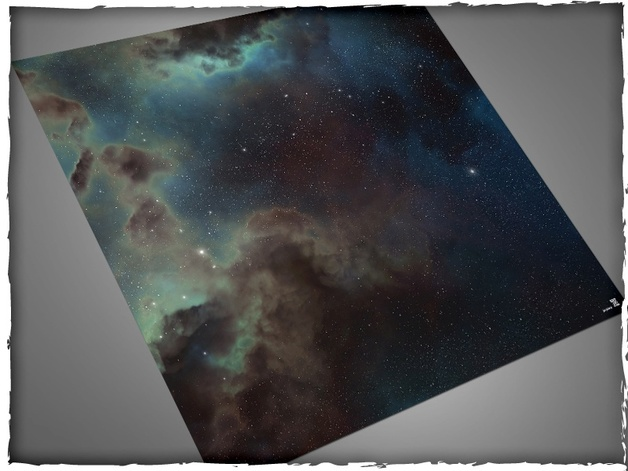 DeepCut Studio Deep Space PVC Mat (3x3)