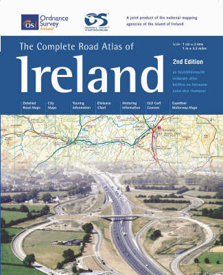 Complete Road Atlas of Ireland by Ordnance Survey Ireland image