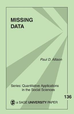 Missing Data by Paul D Allison image