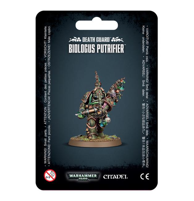Warhammer 40,000: Death Guard - Biologus Putrifier