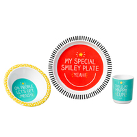 Happy Jackson Melamine Dinner Set