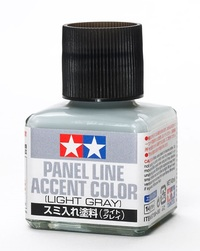 Tamiya: Panel Line Accent Colour - Light Grey (40ml)