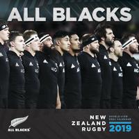 All Blacks 2019 Mini Wall Calendar