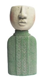 Planter People: Man Planter - Teal (33cm)