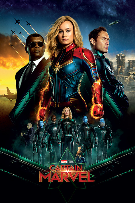 Captain Marvel Maxi Poster - Epic (997)