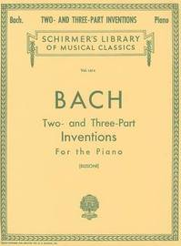 Two- and Three-Part Inventions by Johann Sebastian Bach