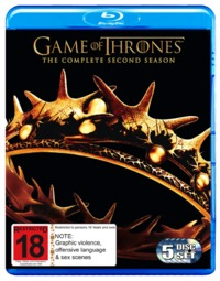 Game of Thrones - The Complete Second Season on Blu-ray