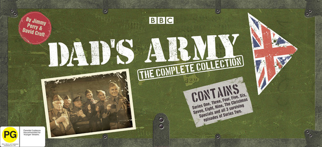 Dad's Army - The Complete Collection (14 Disc Set) on DVD
