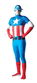 2nd Skin Captain America Costume (Large)