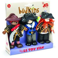 Le Toy Van: Budkins - Buccaneers Set
