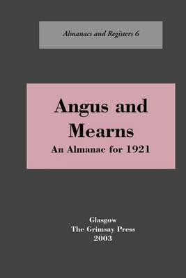 Angus and Mearns by Oliver And Boyd