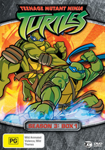 Teenage Mutant Ninja Turtles (2003) - Season 3: Box 1 (3 Disc Box Set) on DVD