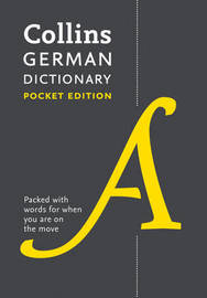 Collins German Pocket Dictionary by Collins Dictionaries