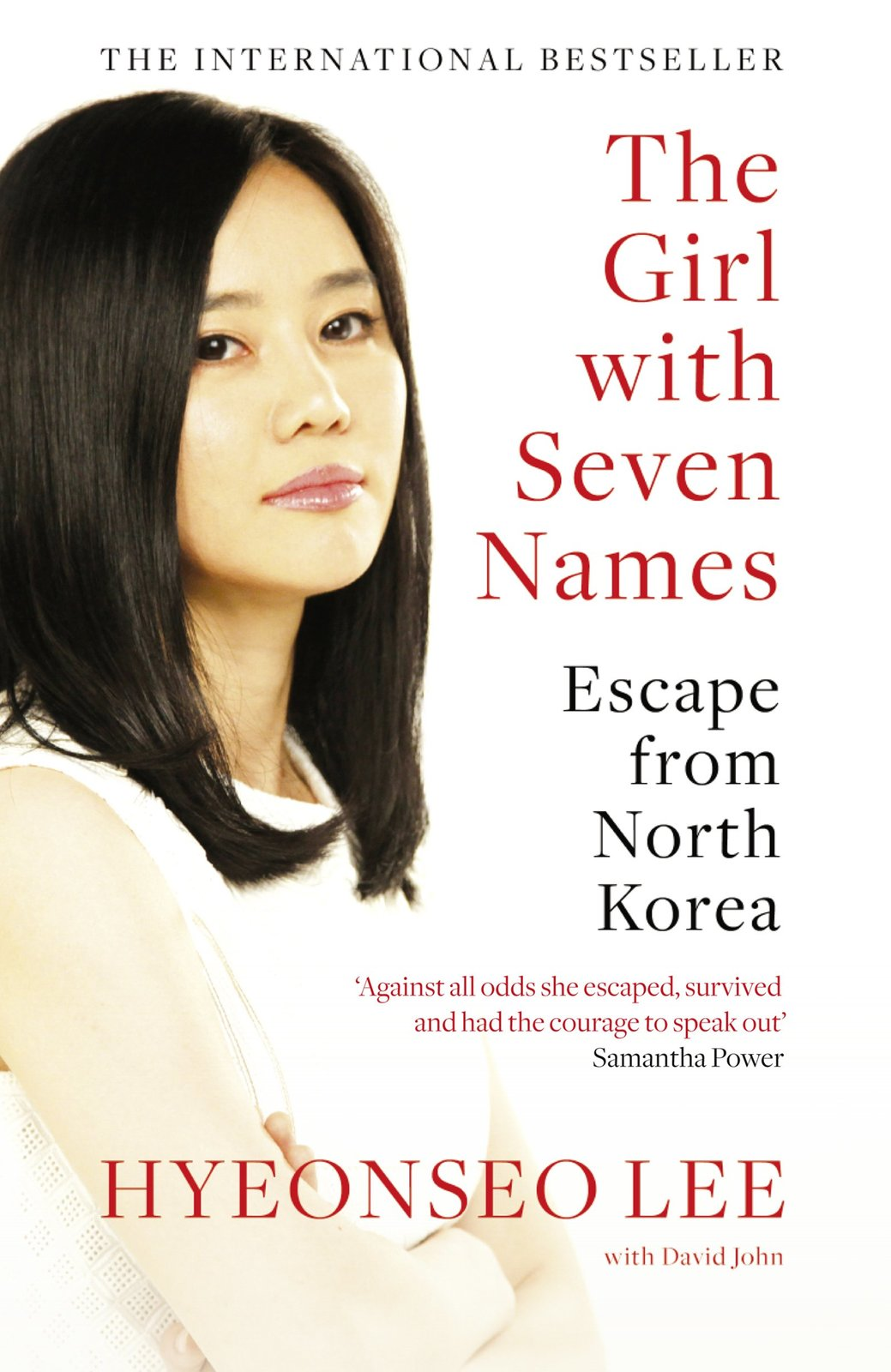 The Girl with Seven Names by Hyeonseo Lee image