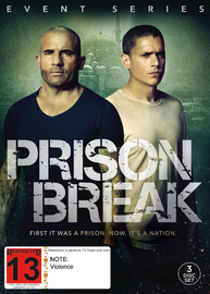 Prison Break Event Series on DVD