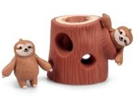 Stretchy Sloth - Tree Stump Set