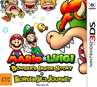 Mario & Luigi: Bowser's Inside Story + Bowser Jr's Journey for Nintendo 3DS