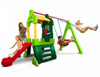 Little Tikes: Clubhouse Swing Set - Natural