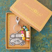 Natural Life: Santa Fe Keychain - Van Enjoy The Ride
