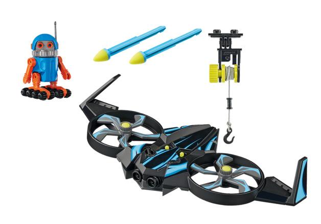Playmobil: The Movie - Robotitron with Drone (70071)