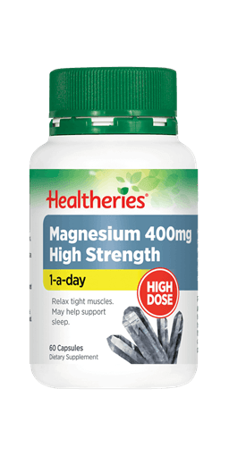 Healtheries Magnesium 400mg High Strength One A Day (60 Caps)