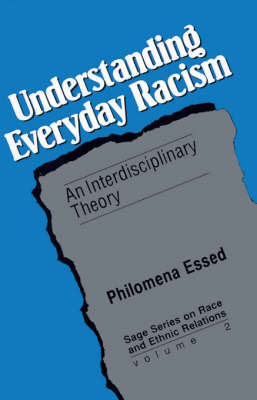 Understanding Everyday Racism by Philomena Essed