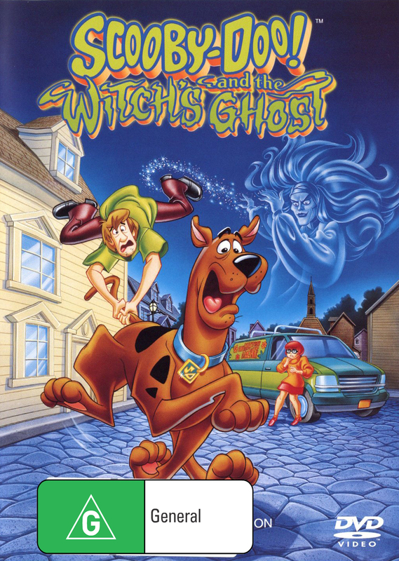Scooby Doo & The Witch's Ghost on DVD
