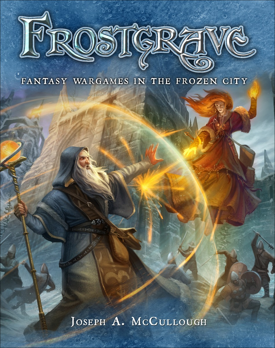 Frostgrave: Fantasy Wargames in the Frozen City Rulebook by Joseph A McCullough image