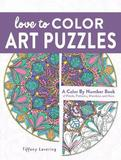 Love to Color Art Puzzles by Tiffany Lovering
