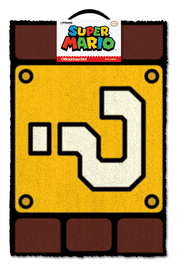 Super Mario: Question Mark Block - Doormat