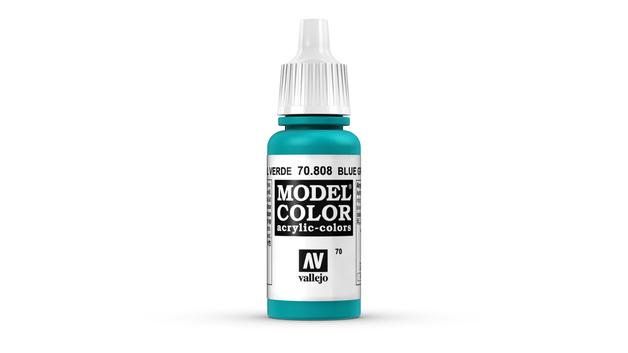 Vallejo Model Colour Green Blue 17ml