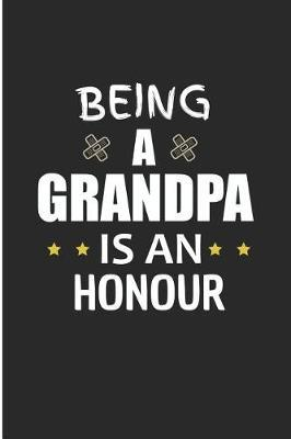 Being A Grandpa Is An Honour by Debby Prints
