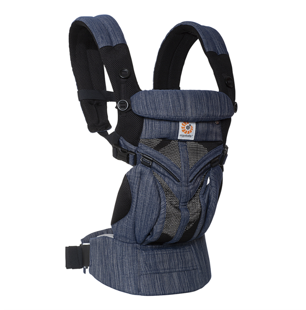Ergobaby Omni 360 Cool Air Mesh Carrier - Indigo Weave