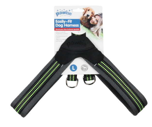 Pawise - Easily-Fit Dog Harness - Large