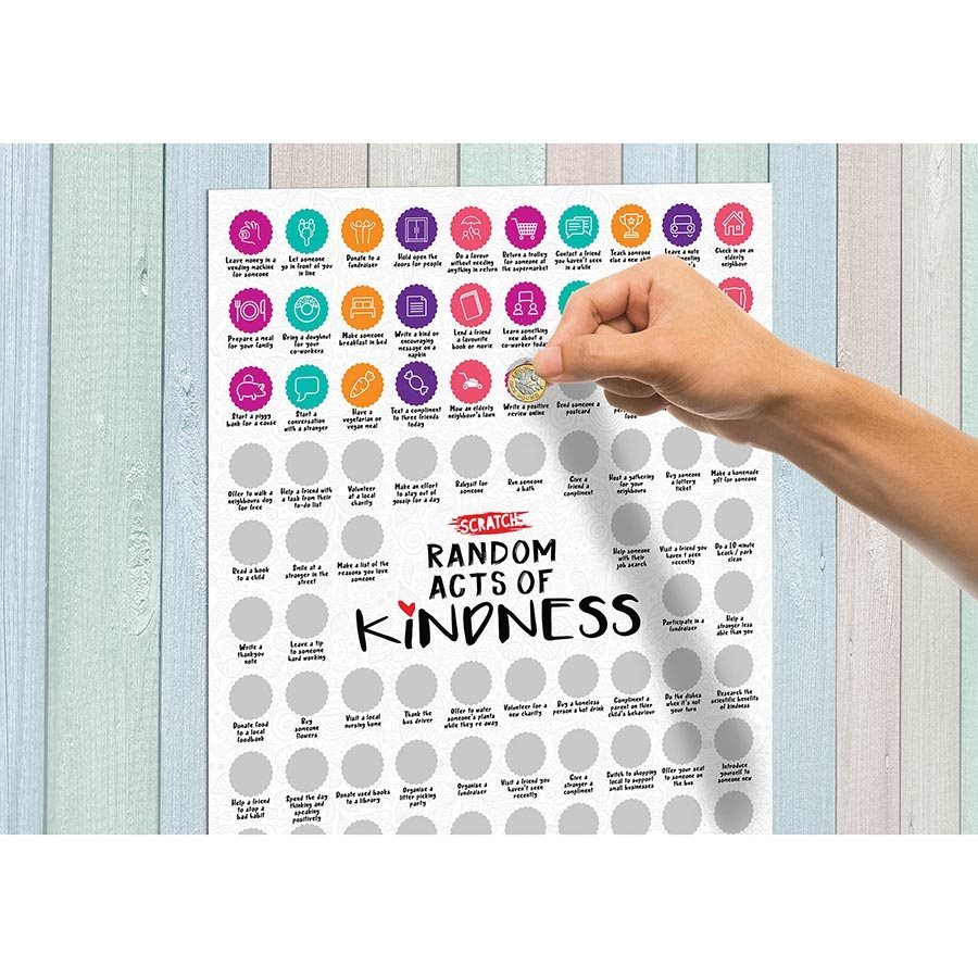 The Source Scratch Poster - 100 Random Acts of Kindness image