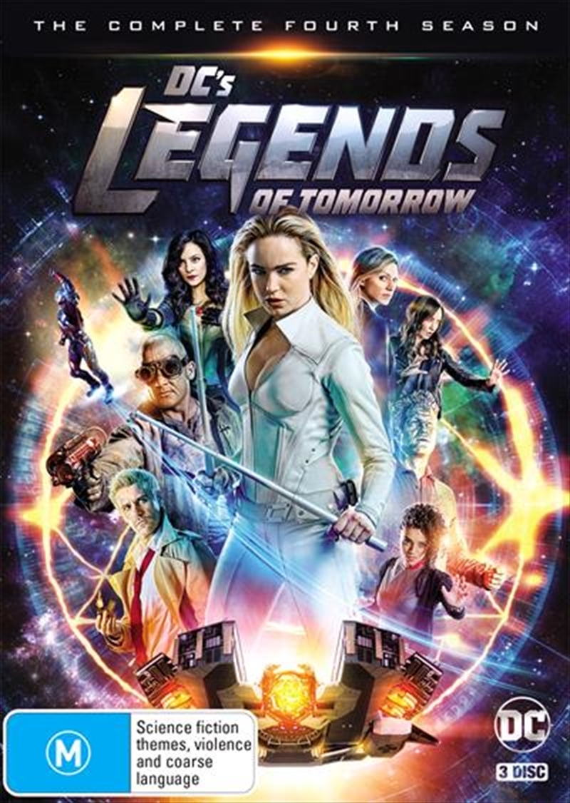 DC's Legends of Tomorrow: The Complete Fourth Season on DVD image