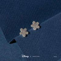 Short Story: Disney Earring Mulan Sakura - Silver