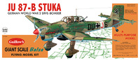JU-87B Stuka 1:16 Balsa Model Kit