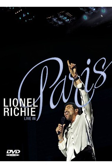 Lionel Richie - Live In Paris on DVD