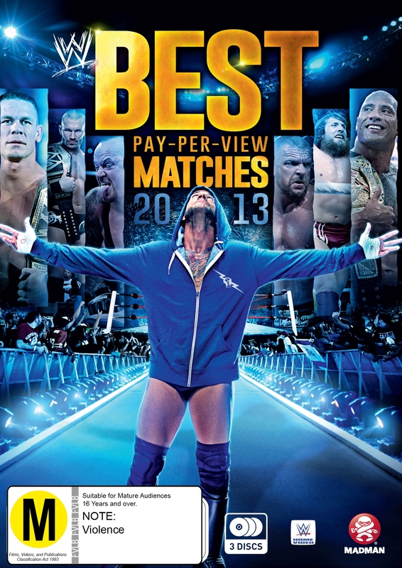 WWE Best Pay Per View Matches 2013 (3 Disc Set) on DVD