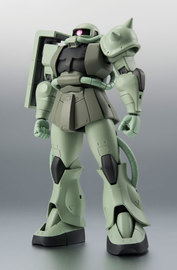 Robot Damashii - MS-06 Zaku (Anime Ver.) Articulated Figure