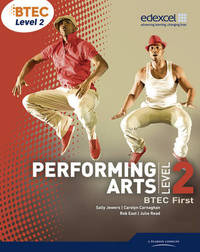BTEC Level 2 First Performing Arts Student Book by Sally Jewers image