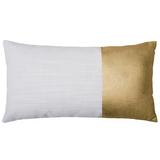 Bambury Block Cushion (Gold)