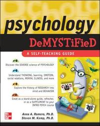 Psychology Demystified by Anna Romero image