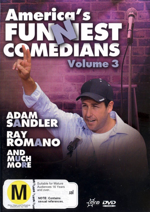 America's Funniest Comedians - Vol. 3 on DVD image